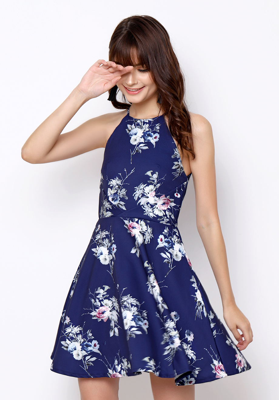 Chocochips Boutique Marino Dress Blue Quick View