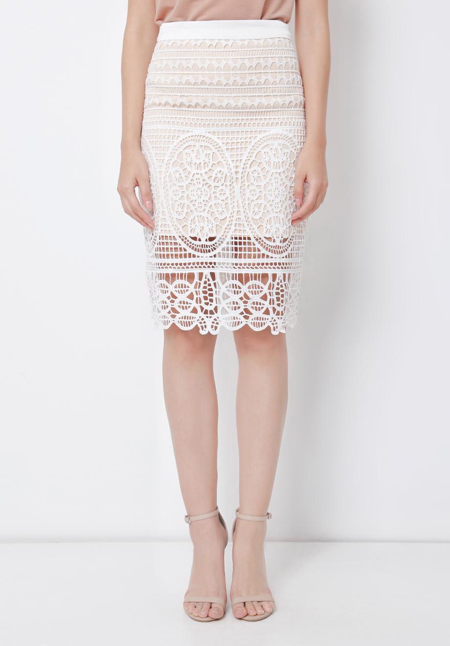 Chocochips Boutique Zelma Dress White Ruth Skirt
