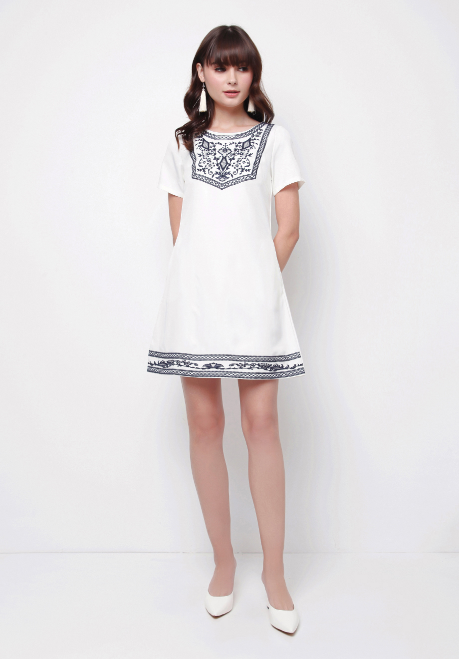 Chocochips Boutique Long Dress Zefanya Trending Now Zelma White