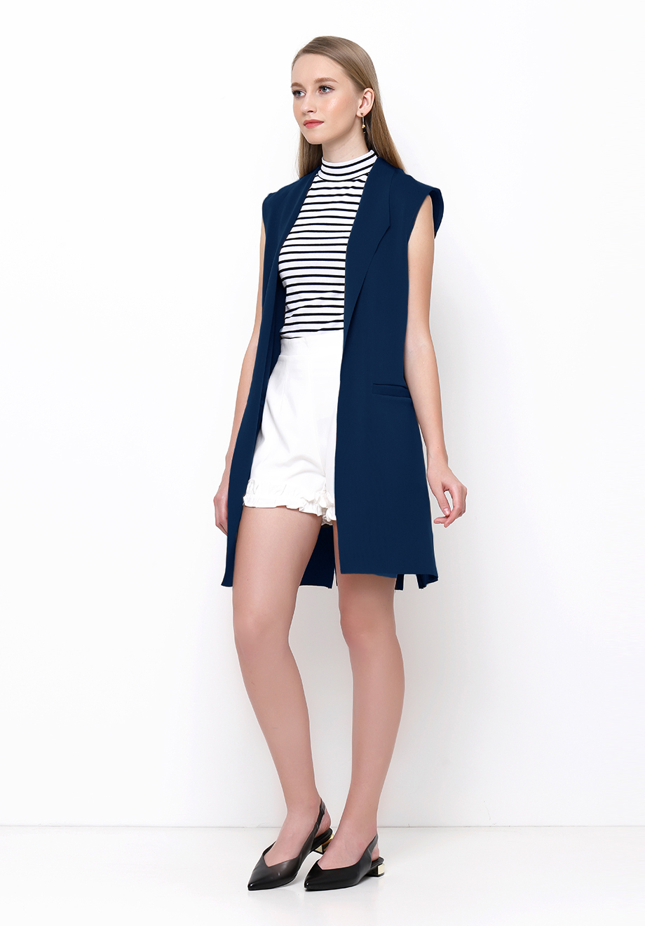 Chocochips Boutique Marino Dress Blue Out Of Stock