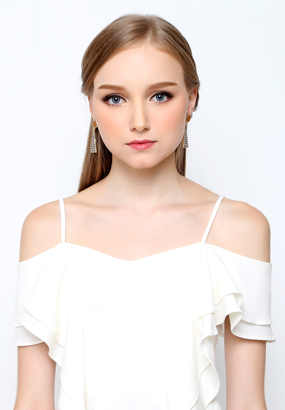 Chocochips Boutique Zelma Dress White Quick View