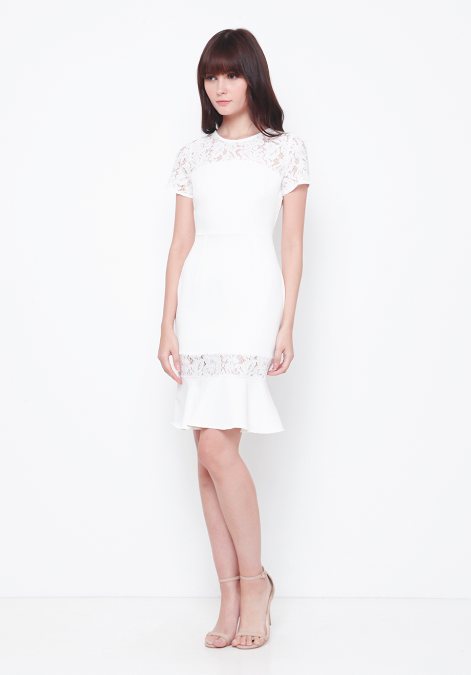 Chocochips Boutique Sully Dress White Quick View