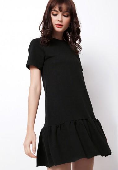Cello Dress Black